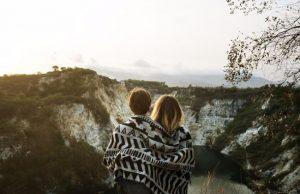 Romantisch weekend weg in stad in Europa