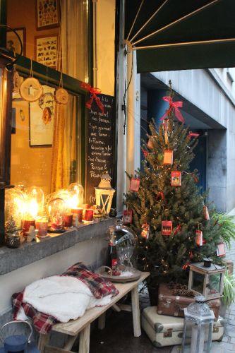 Winterse etalage Antwerpen