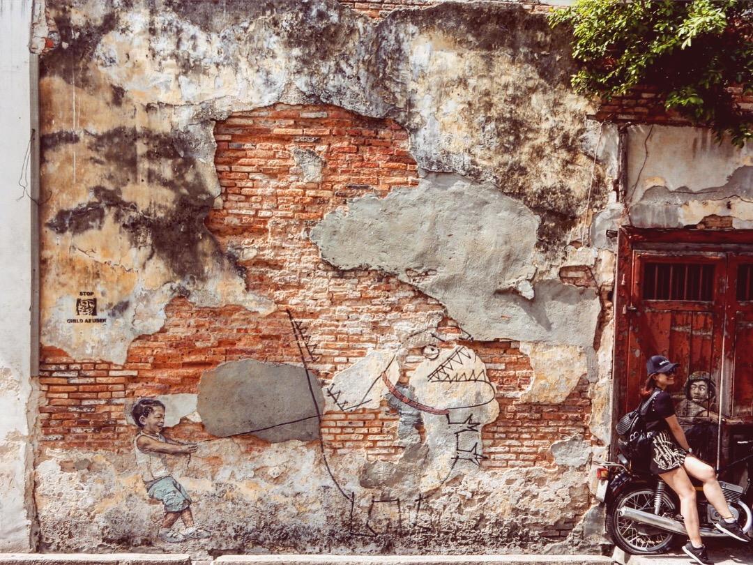 Streetart, Georgetown, Penang